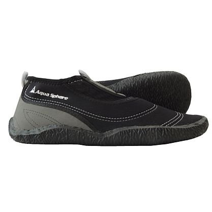 AQUA SPHERE – Herren Beachwalker – Schwarz Schuhe in Übergrößen, Größe:50