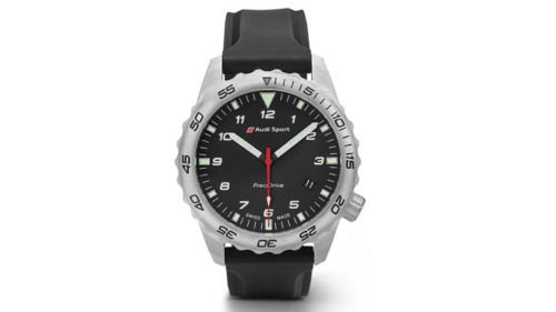 Original Audi Sport Taucheruhr Herren Damen Uhr PreciDrive wasserdicht