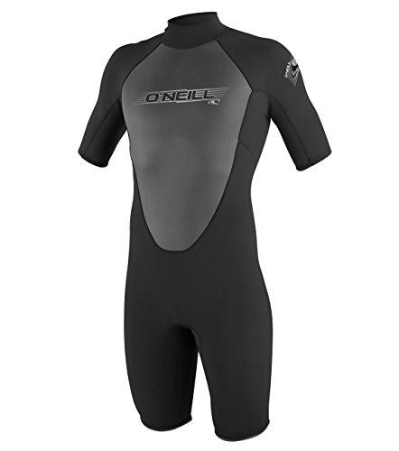 O'Neill Wetsuits Herren Neoprenanzug Reactor 2 mm Spring Wetsuit, Black, S, 3799-A05