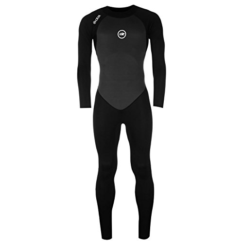 Hot Tuna Herren Taucheranzug Full Langarm Schwimmen Wassersport Bekleidung Klamotten Black/Charcoal XX Large