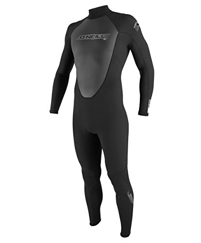 O'Neill Wetsuits Herren Neoprenanzug Reactor 3/2 mm Full Wetsuit, Black, L, 3798-A05