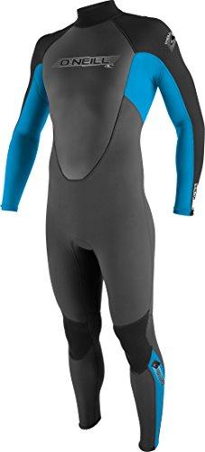 O'Neill Wetsuits Jungen Neoprenanzug youth reactor 3/2 full, Graphite/Tahiti/Black, 10, 3802-BB3
