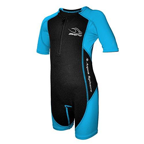 Aqua Sphere Stingray Schwimmanzug Neopren für Kinder schwarz/blau 152 – XXL – 12 Jahre