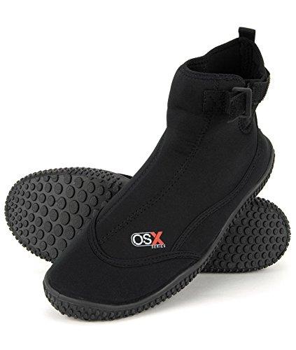 Osprey Neopren OSX Aqua Neoprenanzug Stiefel schwarz schwarz Größe 46