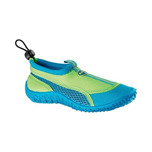 FASHY Kinder Aqua Schuhe Baby-Schuhe Kinder-Schuhe, Größe 25, grün