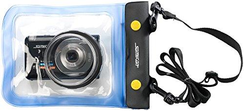 Somikon Unterwasser-Kameratasche XL mit Objektivführung Ø 55 mm