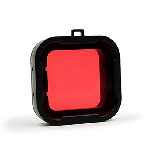 Generic Unterwasser Taucher UV Filter für GoPro Hero 4/3 + / Wassersport Kamera Lens UV Filter – Rot