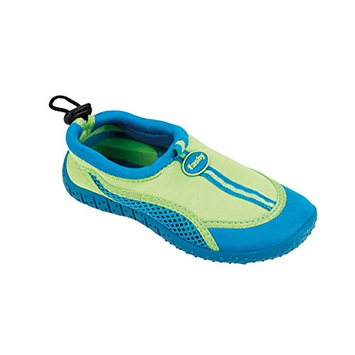 Fashy Kinder Aqua Schuh Modell Guamo (7495 60) – Farbe: grün-türkis – Gr. 27
