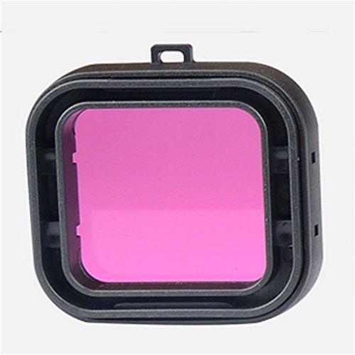 Generic Unterwasser Taucher UV Filter für GoPro Hero 4/3 + / Wassersport Kamera Lens UV Filter – Lila