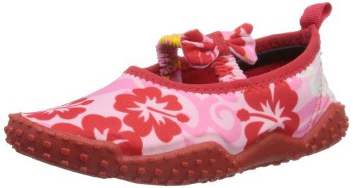 Playshoes Aquaschuhe, Badeschuhe Hawaii, UV-Schutz nach Standard 801 174769, Mädchen Dusch- & Badeschuhe, Pink (original 900), EU 26/27