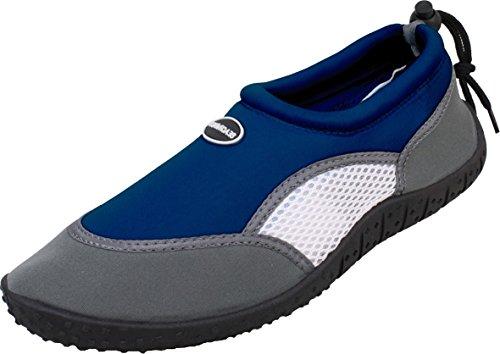 Bockstiegel Herren Neopren Aquaschuh Amrum-1, Farbe:dunkelblau;Größe:46