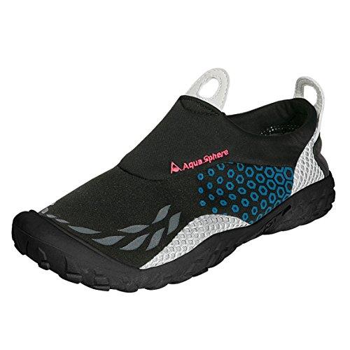 Aquatic Footwear Neopren-Schuhe Sporter (44 EUR) (Schwarz/Blau)