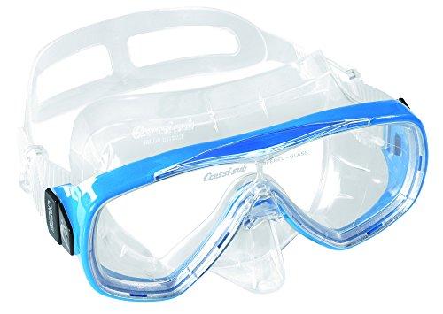 Cressi Taucherbrille Erwachsene, Herren und Damen – Tauchermaske, Made in Italy, blau, DN207020
