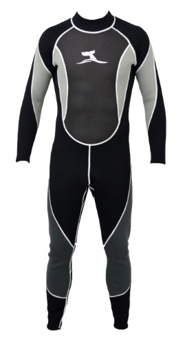 Herren 3 mm Neoprenanzug Longsuit Größe L 48-50 Surfanzug mit Mesh Skin