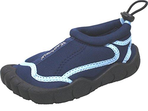 Bockstiegel Kinder Neopren Aquaschuh Langeoog, Farbe:blau, Größe:34