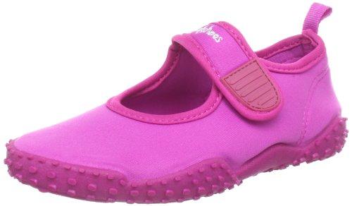 Playshoes Aquaschuhe, Badeschuhe klassisch mit höchstem UV-Schutz nach Standard 801 174797, Unisex-Kinder Dusch- & Badeschuhe, Pink (pink 18), EU 24/25