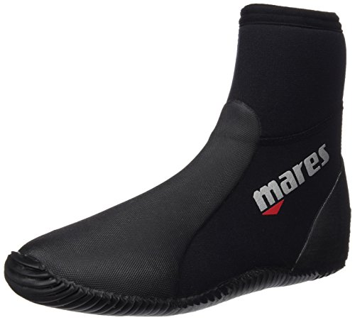 Mares Unisex Dive Boots Classic NG 5 mm, black/grey, 39/40 (US 7), 41261907050