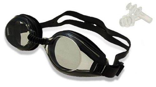 Kit Schwarz Brille Taucherflossen und Pool