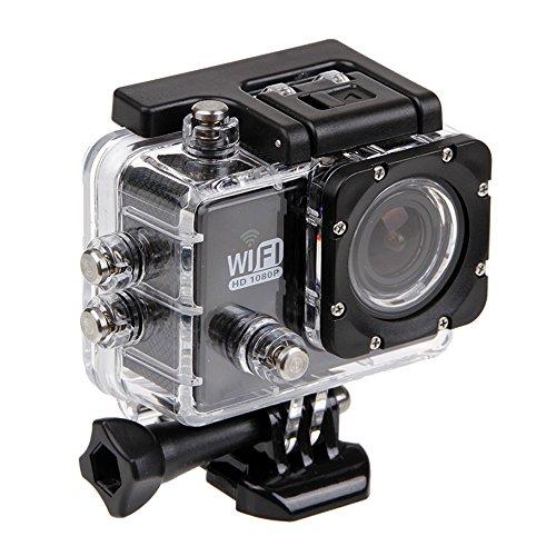 hazziha Wasserdicht Schutz Hülle Gehäuse Skin Box für Action Sports Kamera Zubehör SJ 6000Unterwasser Tauchen Gehäuse Case Cover Transparent