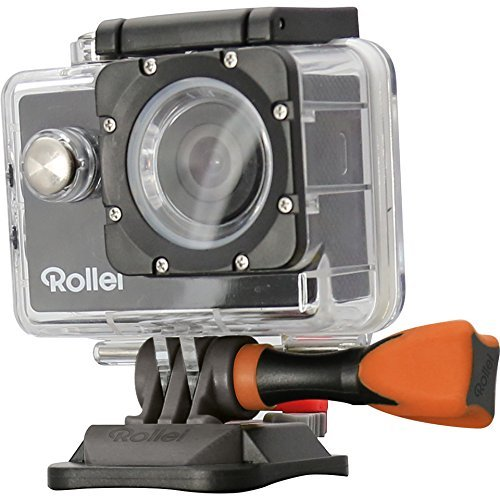 Rollei Actioncam 300, der günstige Einstieg in die Actioncam Welt in HD, inkl Unterwassergehäuse, 140° Super-Weitwinkel-Objektiv, HD Videofunktion 720p – Schwarz
