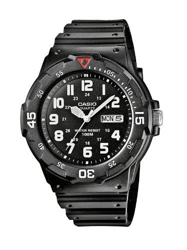 Casio Herren-Armbanduhr Analog Quarz Resin MRW-200H-1BVEF