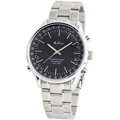 [LAD WEATHER] GPS-Einheiten Uhren/ Armbanduhren Manuell / Auto 100 Meter wasserdicht 30 Zeitzone Breite Einfache Einstellung Herrenuhr