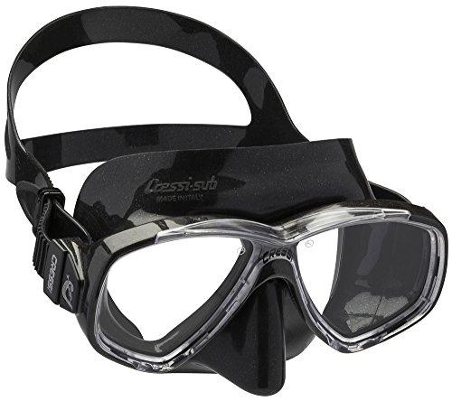 Cressi Perla Taucherbrille Schwarz – Taucherbrille Schwarz
