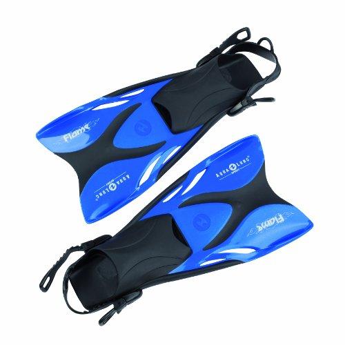 Aqua Lung 63306 – Schwimmflossen Flame metallic, 33-36, blau